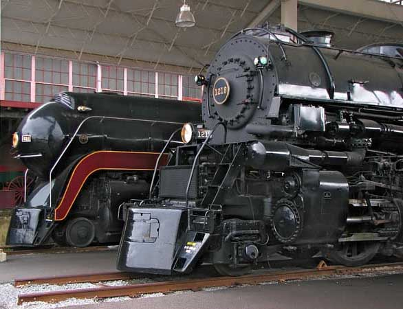 Steam Locomotives at the Virginia Museum of Transportation
